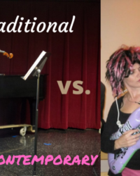 Traditional vs. Contemporary?